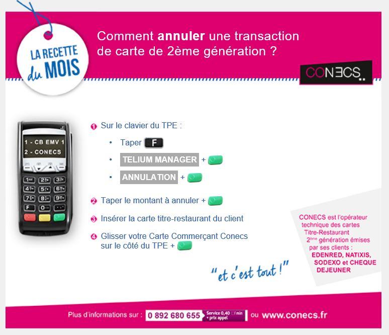1_Comment annuler une transaction de carte 2eme generation