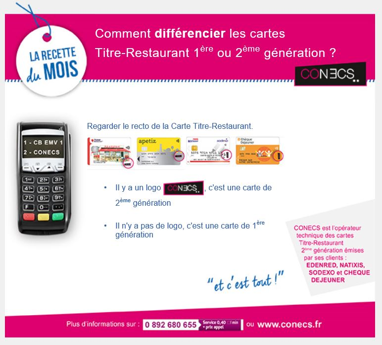 4_Comment differencier les cartes titre restaurant 1ere ou 2eme generation